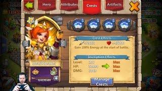 JT's Main Double Evolving HeartBreaker + GamePlay Castle Clash