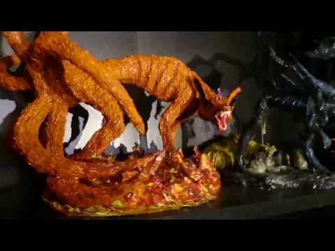 My sculpting room tour + figurines and masks that I have made myself and still own.
