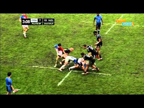 2015 Japan IRB Rugby Sevens World Series France VS New Zealand 2/2