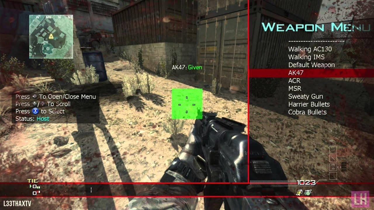 MW3 UnsignedMods Mod Menu TU23 Xbox 360 JTAGRGH