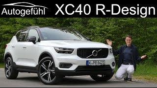 Volvo XC40 R-Design T4 FULL REVIEW - Autogefühl