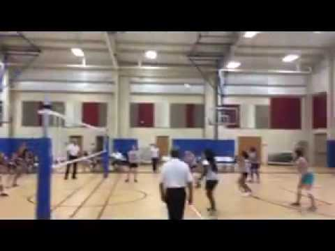 Royal Palm Academy Volleyball Game