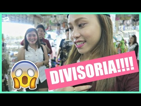DIVISORIA SHOPPING! FIRST TIME KO | rhazevlogs
