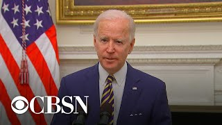 President Biden signs executive orders addressing the economy