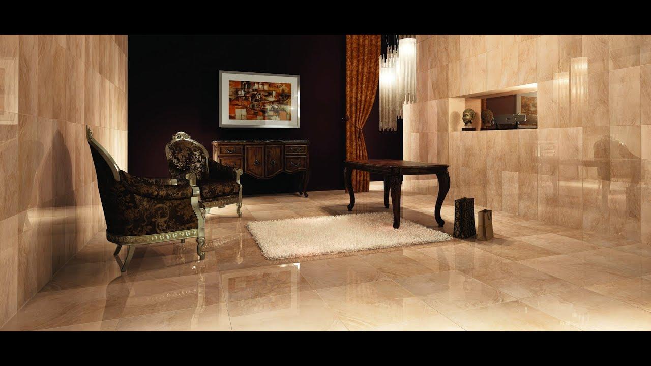 Beige Marble Living Room