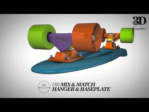 NEW Penny 3D skateboard customiser!