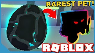 THIS IS THE RAREST PET in ROBLOX PET SIMULATOR