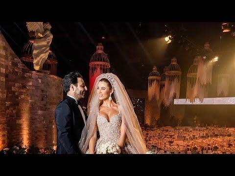 زواج فتاة مسلمة من رجل مسيحي في لبنان على وقع أغنية تجمع الآذان والترانيم تثير جدلا واسعا