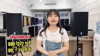 Bộ dàn loa karaoke gia đình giá 24,6 triệu. HÁT RẤT HAY - MÀ KHÔNG SỢ HÚ