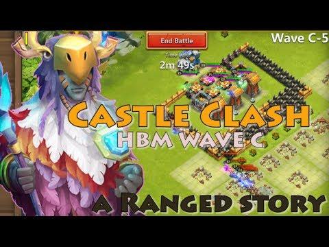 CASTLE CLASH - HBM C - TH 11 - ALL RANGE HEROES