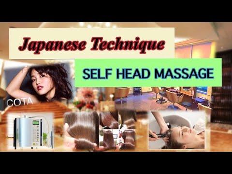 Japanese Technique SELF HEAD MASSAGE