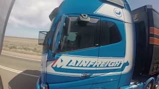 Road train from Perth to Adelaide