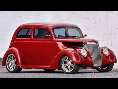 1937 Ford Tudor Slantback Street Rod Build Project