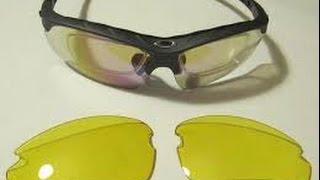 Велосипедные очки со сменными линзами - ОБЗОР