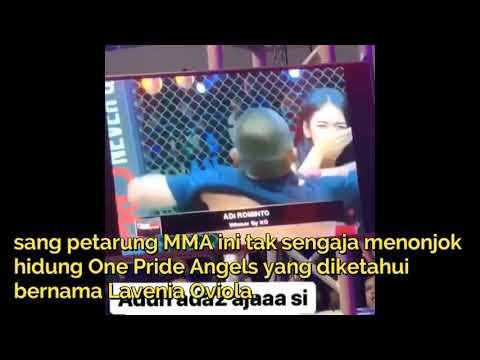 VIRAL! detik-detik Lavenia Oviola kena tonjok petarung MMA Mp3