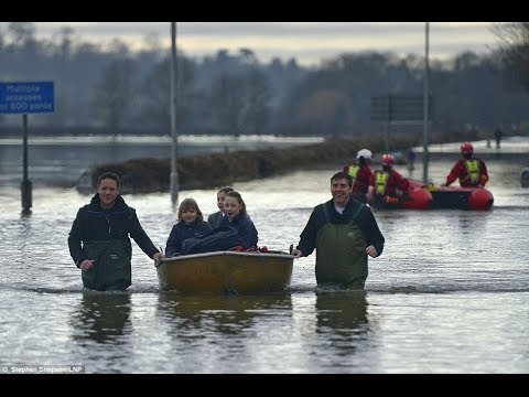 DRENCHED EXTREME WEATHER UK Floods UK Under Water