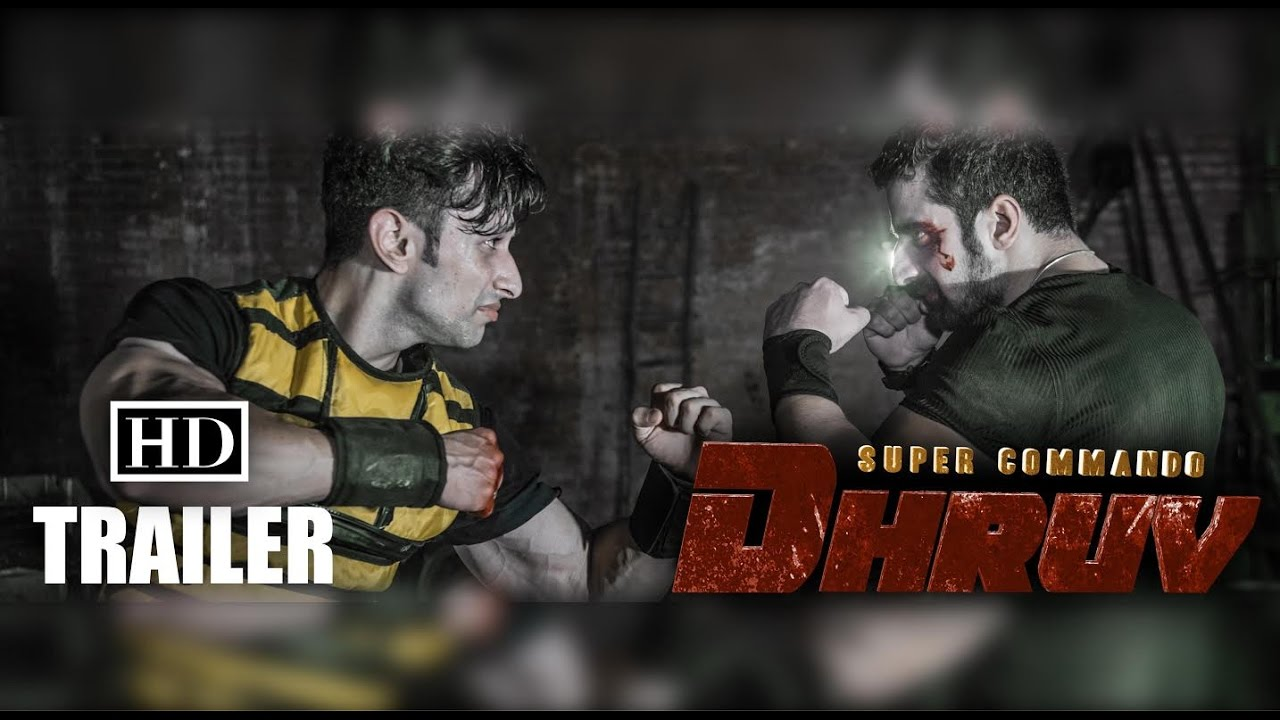 SUPER COMMANDO DHRUV (Web Series) - Official Trailer | First Indian Comic  Book Superhero