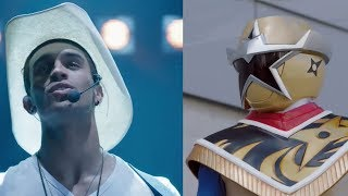 Ninja Steel - Rocking and Rolling - Levi's Music Song Concert   Episode 9   Power Rangers Official
