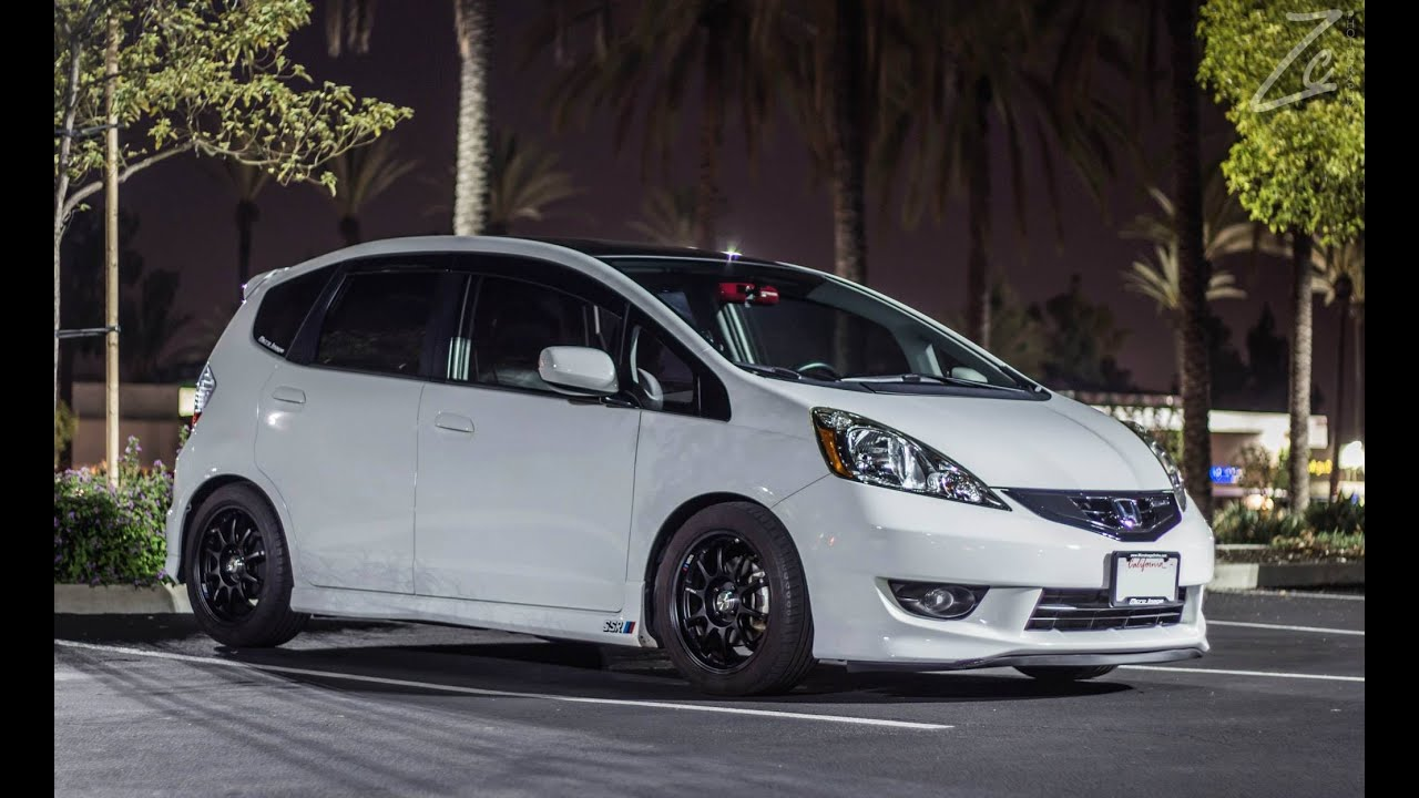 Honda Fit GE8 - Mugen Exhaust - YouTube