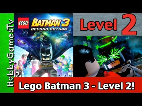 Lego Batman 3 Beyond Gotham Level 2: Video Game! Gameplay Walkthrough Xbox One HobbyGamesTV