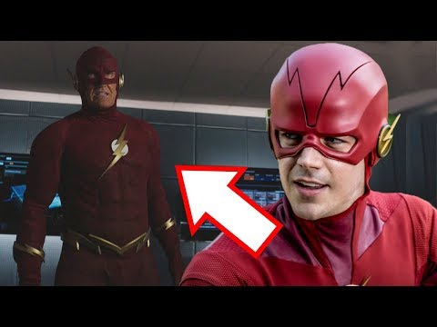90s Flash FIRST LOOK! - The Flash Season 5 Elseworlds Crossover!