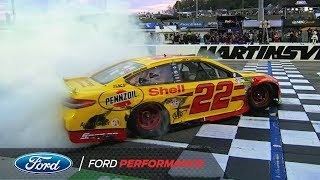 Built Ford Proud: Joey Logano Claims 2018 NASCAR Cup Series Championship   Ford Performance