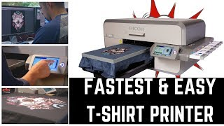 Fastest & Easy T-shirt Printer from Designer to Business