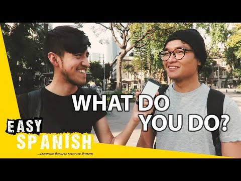 What do you do? | Easy Spanish 77