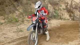 moto enduro 50 cc earth-racing