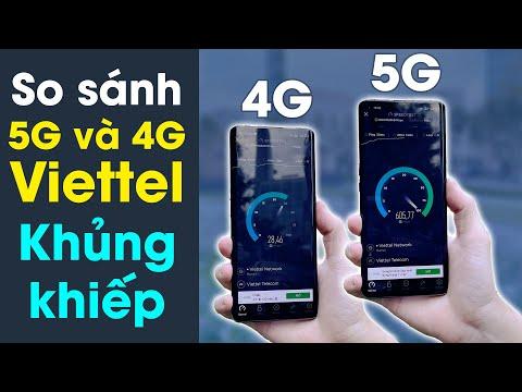 So sánh thực tế mạng 5G và 4G Viettel: Chênh nhau 20 lần