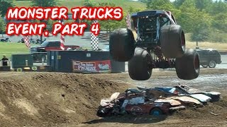 MONSTER TRUCKS AND TUFF TRUCKS, Clark County Fair 2015 (Pt 4)