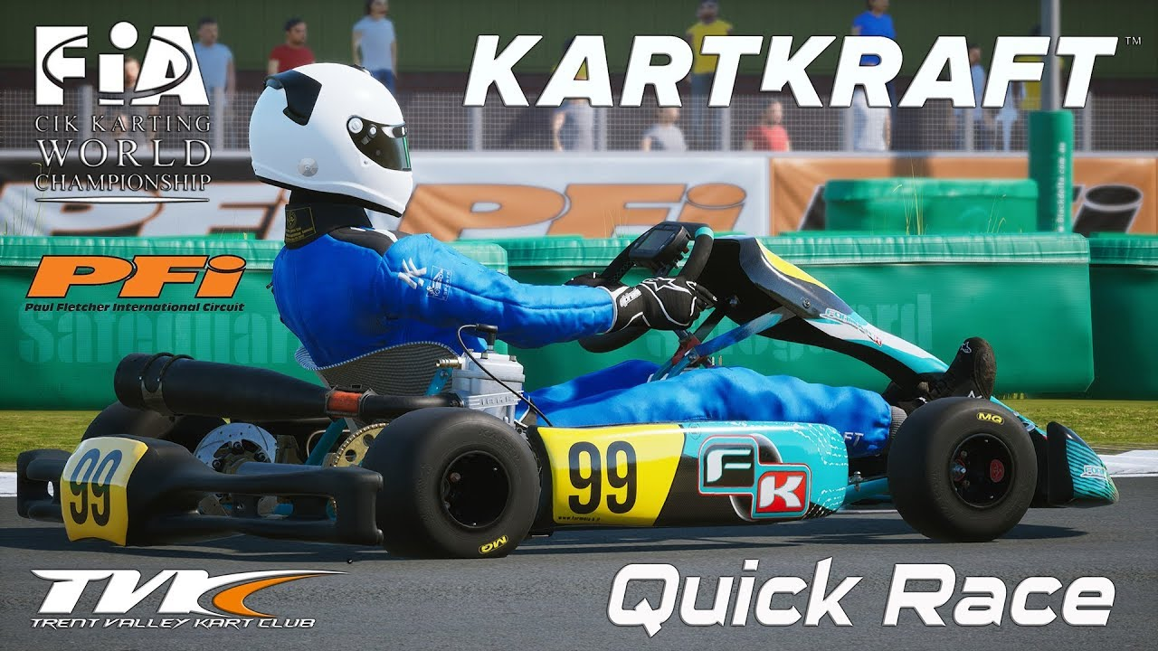 KartKraft PFI Race Against Hard AI