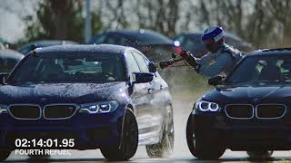 Watch the ALL-NEW BMW M5 refuel mid-drift to take TWO GUINNESS WORLD RECORDS™ titles