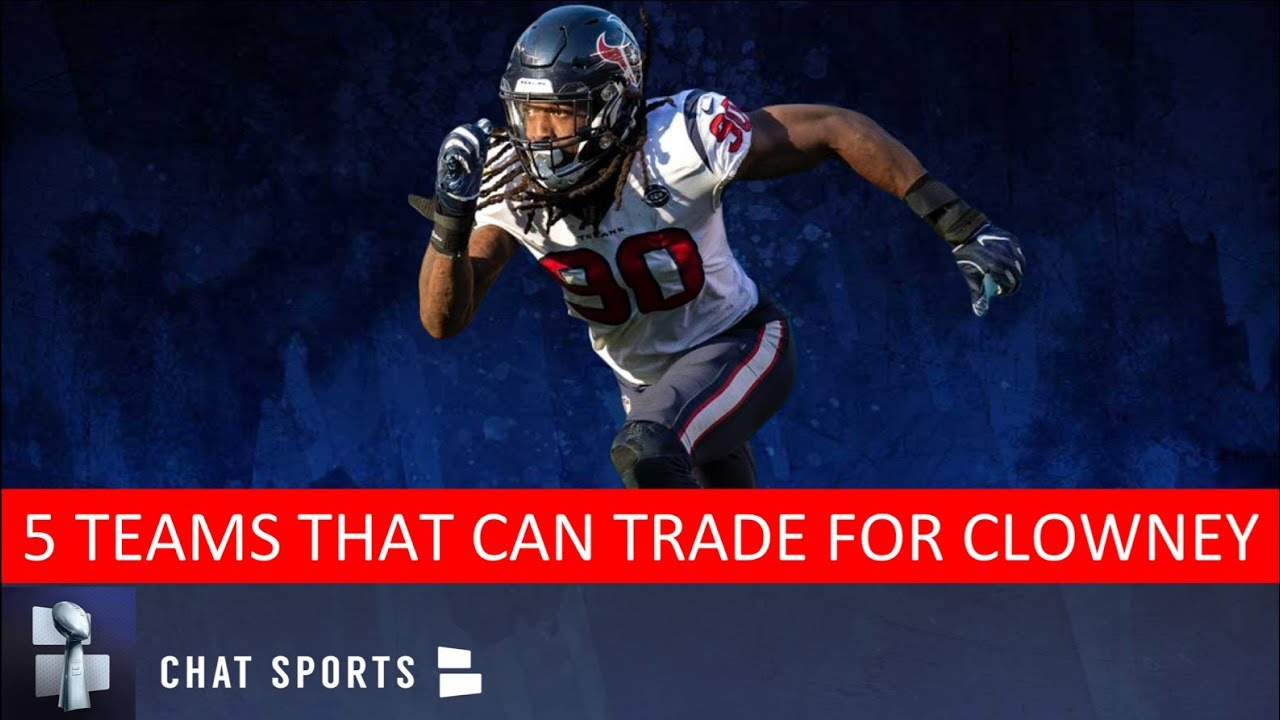 12bfd7b1 Jadeveon Clowney Trade Rumors: 5 NFL Teams That Could Trade For The ...