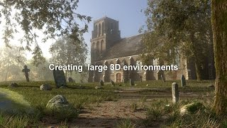 Creating Large 3D environments