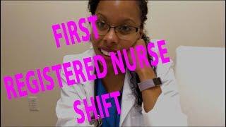 New Nurse First Shift Vlog