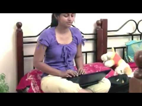 Short Film--   Newtons 3rd law Telugu Punch To Girls