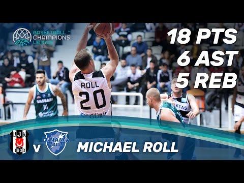 Michael Roll (18 Pts) leads Besiktas to the win against Sassari