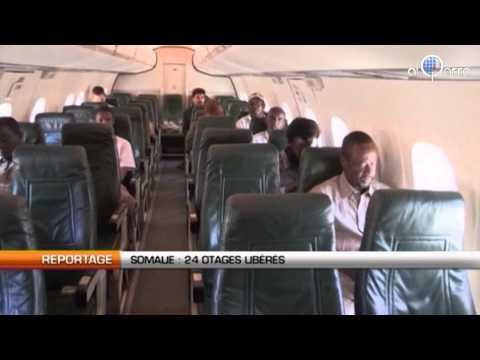 Somalie : 24 otages libérés