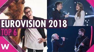Eurovision 2018 Top 6: Our favourites so far