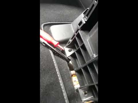 How to find and adjust the handbrake lever/cable on honda CRV 2014