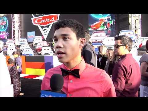 Roshon Fegan 'Cars 2' Movie Premiere Interview