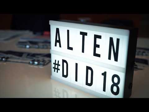 ALTEN Digital Innovation Day 2018 à Paris
