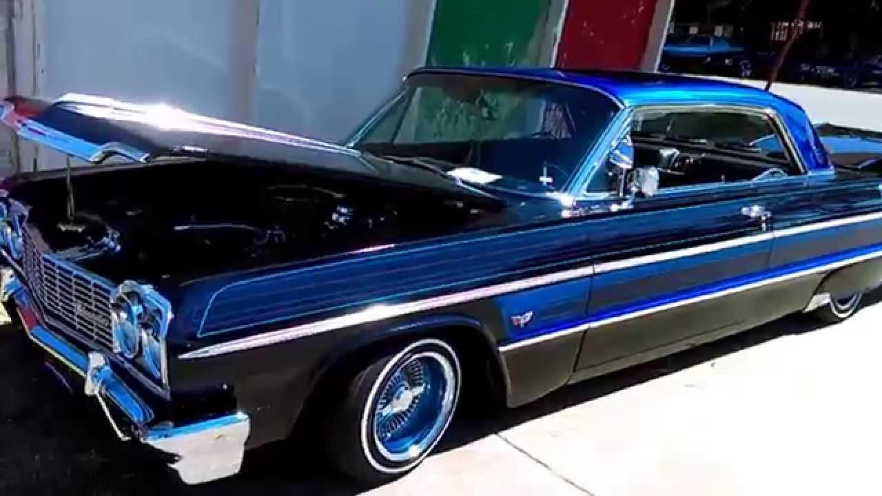 1964 Chevy Impala Lowrider Stockton Impalas Magazine Car Show Youtube 1957