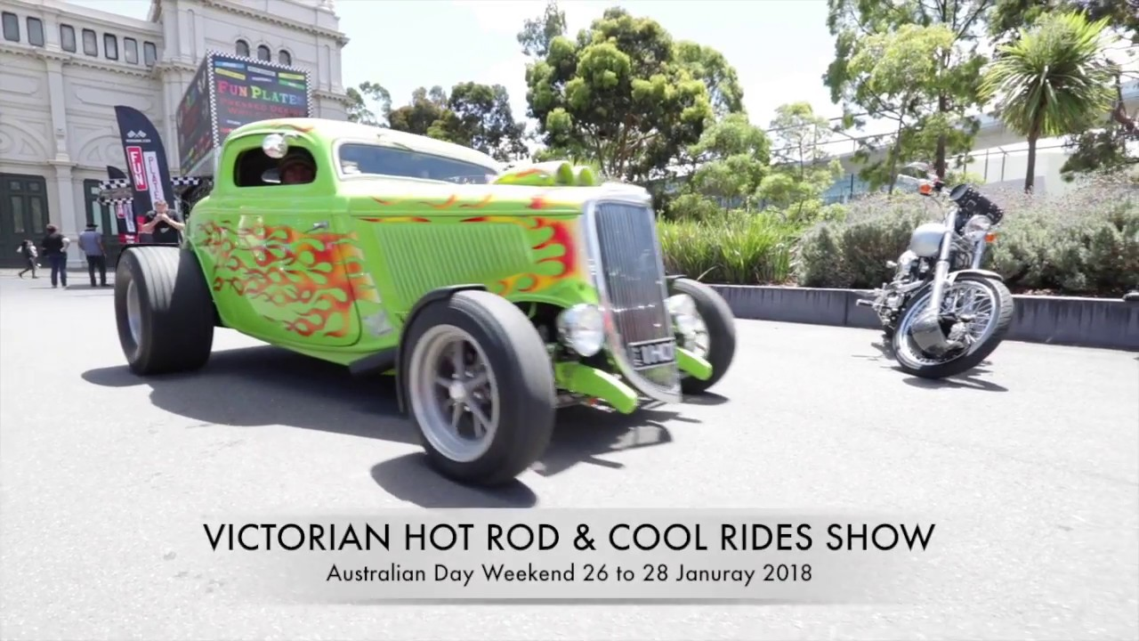 Victoria Hot Rod Cool Rides Show YouTube - Hot rod show 2018