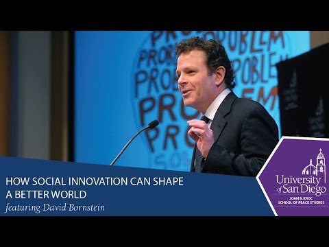 How Social Innovation Can Shape A Better World with David Bornstein