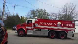Johnson Creek Fire Department Tender Response