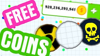 how to get free coins in agario agar io update