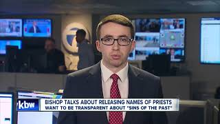 Bishop speaks about releasing list of priests accused of abuse