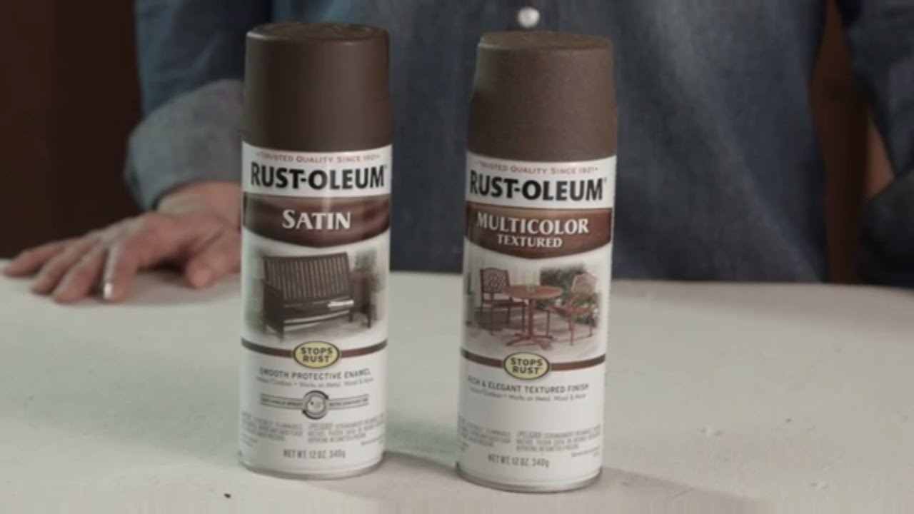 how to paint rusty metal patio furniture - youtube